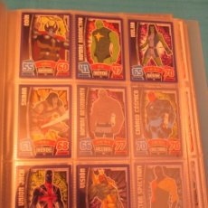Trading Cards: TOPPS HERO ATTAX MARVEL AVENGERS LOTE TAMBIEN SUELTAS. Lote 175953620