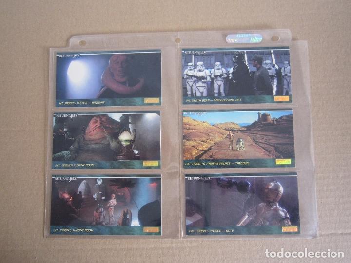Trading Cards: STAR WARS - TRADING CARDS PANORÁMICAS - RETORNO DEL JEDI - 1995 - IMPORTACIÓN U.S.A. - Foto 2 - 176382514