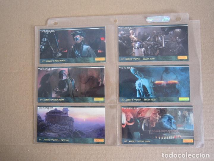 Trading Cards: STAR WARS - TRADING CARDS PANORÁMICAS - RETORNO DEL JEDI - 1995 - IMPORTACIÓN U.S.A. - Foto 3 - 176382514