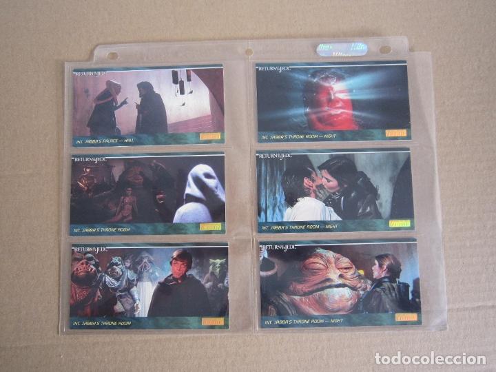 Trading Cards: STAR WARS - TRADING CARDS PANORÁMICAS - RETORNO DEL JEDI - 1995 - IMPORTACIÓN U.S.A. - Foto 4 - 176382514