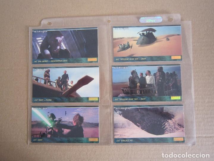 Trading Cards: STAR WARS - TRADING CARDS PANORÁMICAS - RETORNO DEL JEDI - 1995 - IMPORTACIÓN U.S.A. - Foto 6 - 176382514