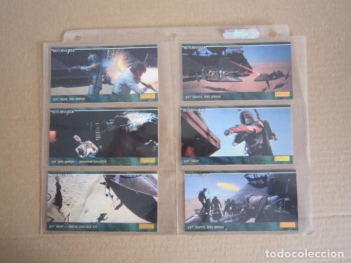 Trading Cards: STAR WARS - TRADING CARDS PANORÁMICAS - RETORNO DEL JEDI - 1995 - IMPORTACIÓN U.S.A. - Foto 7 - 176382514