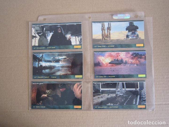 Trading Cards: STAR WARS - TRADING CARDS PANORÁMICAS - RETORNO DEL JEDI - 1995 - IMPORTACIÓN U.S.A. - Foto 9 - 176382514