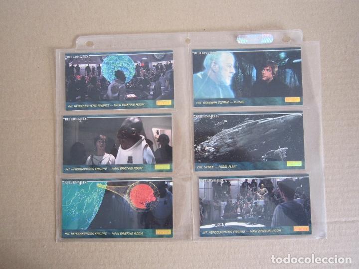 Trading Cards: STAR WARS - TRADING CARDS PANORÁMICAS - RETORNO DEL JEDI - 1995 - IMPORTACIÓN U.S.A. - Foto 10 - 176382514