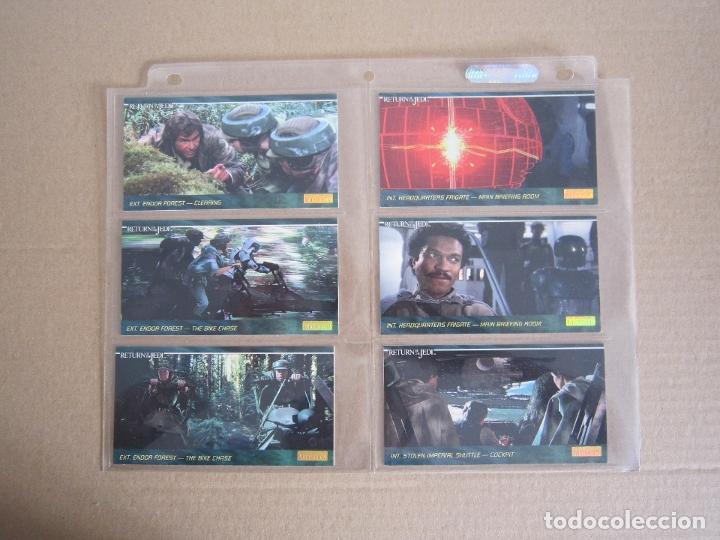 Trading Cards: STAR WARS - TRADING CARDS PANORÁMICAS - RETORNO DEL JEDI - 1995 - IMPORTACIÓN U.S.A. - Foto 11 - 176382514