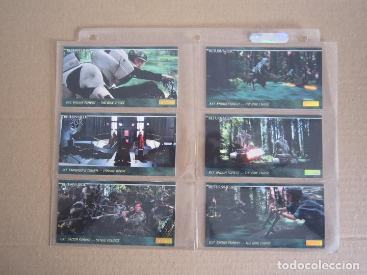 Trading Cards: STAR WARS - TRADING CARDS PANORÁMICAS - RETORNO DEL JEDI - 1995 - IMPORTACIÓN U.S.A. - Foto 12 - 176382514