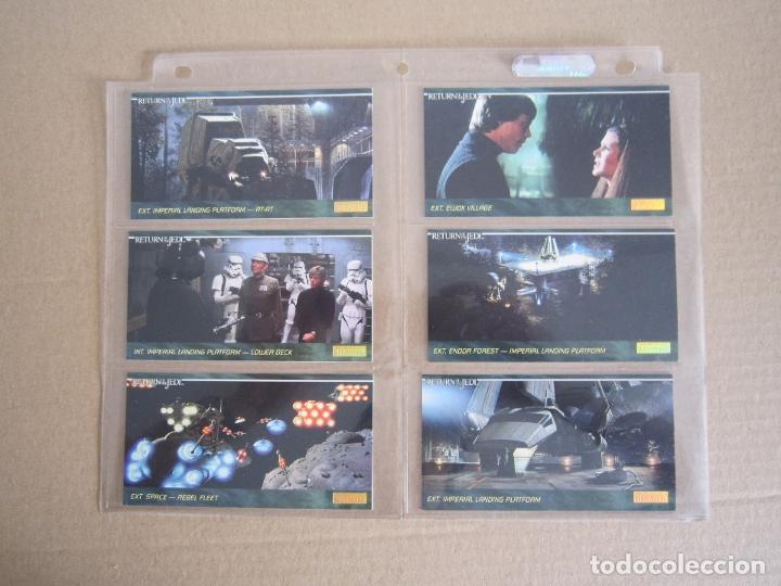 Trading Cards: STAR WARS - TRADING CARDS PANORÁMICAS - RETORNO DEL JEDI - 1995 - IMPORTACIÓN U.S.A. - Foto 14 - 176382514