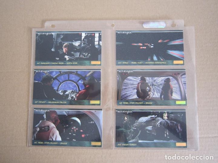 Trading Cards: STAR WARS - TRADING CARDS PANORÁMICAS - RETORNO DEL JEDI - 1995 - IMPORTACIÓN U.S.A. - Foto 15 - 176382514