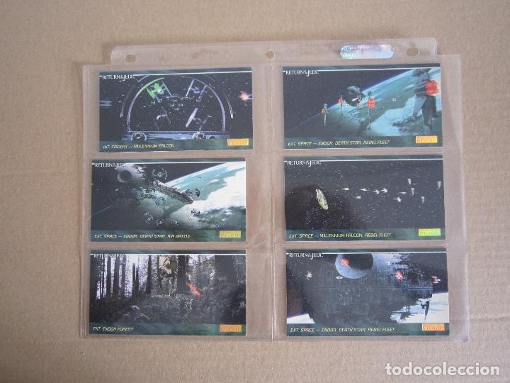 Trading Cards: STAR WARS - TRADING CARDS PANORÁMICAS - RETORNO DEL JEDI - 1995 - IMPORTACIÓN U.S.A. - Foto 16 - 176382514