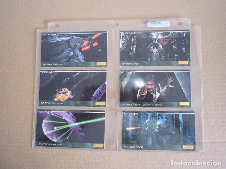 Trading Cards: STAR WARS - TRADING CARDS PANORÁMICAS - RETORNO DEL JEDI - 1995 - IMPORTACIÓN U.S.A. - Foto 17 - 176382514
