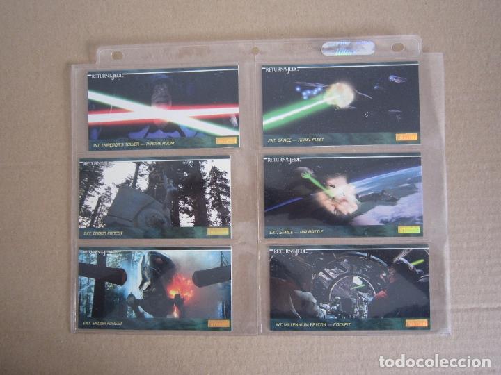Trading Cards: STAR WARS - TRADING CARDS PANORÁMICAS - RETORNO DEL JEDI - 1995 - IMPORTACIÓN U.S.A. - Foto 18 - 176382514