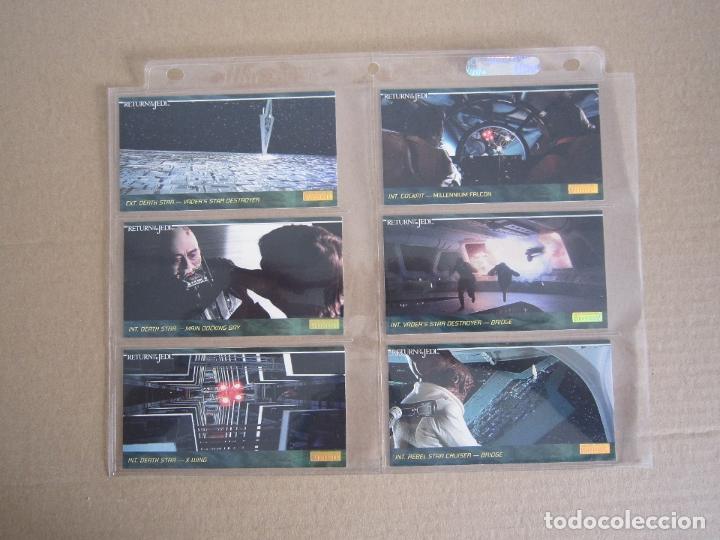 Trading Cards: STAR WARS - TRADING CARDS PANORÁMICAS - RETORNO DEL JEDI - 1995 - IMPORTACIÓN U.S.A. - Foto 20 - 176382514