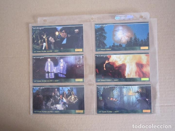Trading Cards: STAR WARS - TRADING CARDS PANORÁMICAS - RETORNO DEL JEDI - 1995 - IMPORTACIÓN U.S.A. - Foto 21 - 176382514
