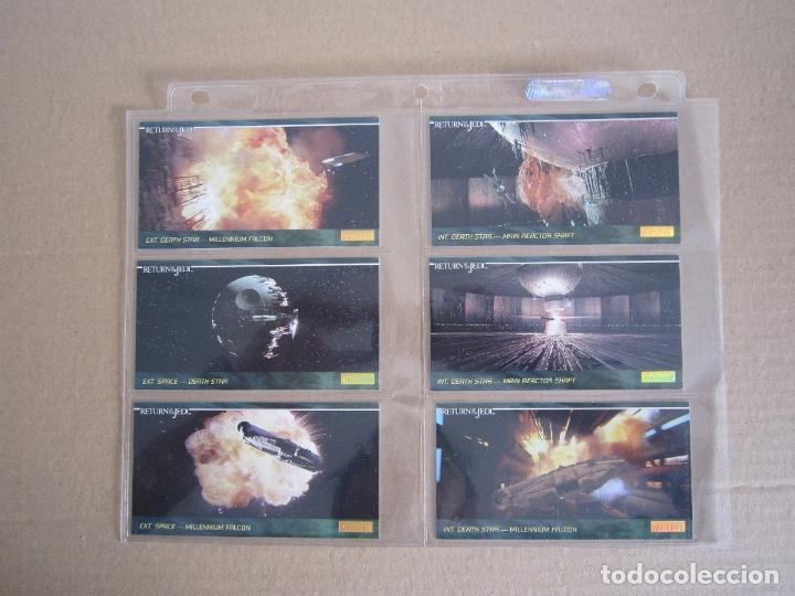 Trading Cards: STAR WARS - TRADING CARDS PANORÁMICAS - RETORNO DEL JEDI - 1995 - IMPORTACIÓN U.S.A. - Foto 22 - 176382514