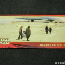 Trading Cards: STAR WARS EPISODE I WIDEVISION NÚMERO 023 23 REFUELING AND REPARING - TOPPS CARTA CROMO. Lote 176776962