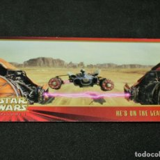 Trading Cards: STAR WARS EPISODE I WIDEVISION NÚMERO 048 48 HE'S ON THE LEADER TOPPS CARTA CROMO. Lote 176779027