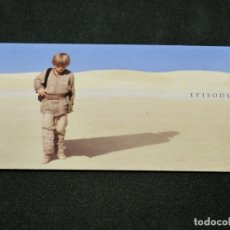 Trading Cards: STAR WARS EPISODE I WIDEVISION NÚMERO 001 1 THE PHANTOM MENACE TOPPS CARTA CROMO. Lote 176788504