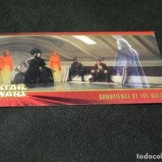 Trading Cards: STAR WARS EPISODE I WIDEVISION NÚMERO 031 31 CONSCIENCE OF THE QUEEN - TOPPS CARTA CROMO. Lote 176790273