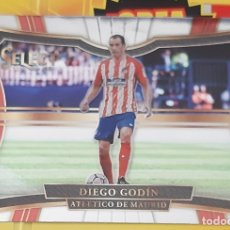 Trading Cards: CARD PANINI SELECT DIEGO GODIN ATLETICO MADRID. Lote 176821068
