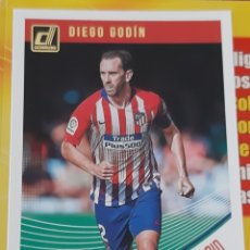 Trading Cards: CARD PANINI DONRUSS DIEGO GODIN ATLETICO DE MADRID. Lote 176822032