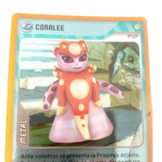 Trading Cards: INVIZIMALS CORALEE METAL. Lote 176988685