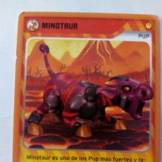 Trading Cards: INVIZIMALS PUP MINOTAUR. Lote 176996307