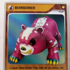 Trading Cards: INVIZIMALS PUP BEARSERKER. Lote 176996635
