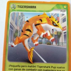 Trading Cards: INVIZIMALS PUP TIGERSHARK. Lote 176997284