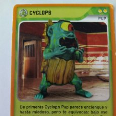 Trading Cards: INVIZIMALS PUP CYCLOPS. Lote 176997525