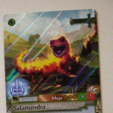 Trading Cards: FANTASY RIDERS ~ SALAMANDRA ~ ERRANTES , Nº 375 ( PLATINO ) PANINI 2018 # CARD. Lote 177833907