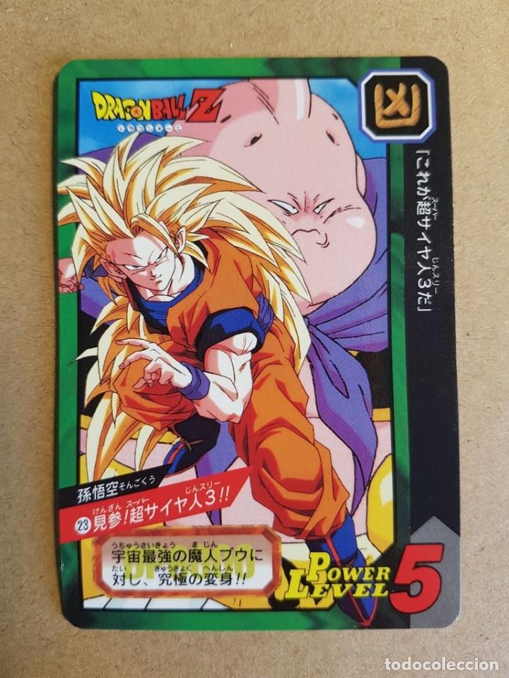 Dragon Ball Z Carddass Tokubetsudan 38