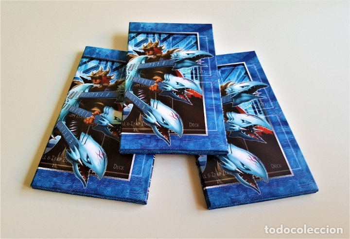 Trading Cards: YU-GI-OH! TABLERO DE JUEGO TRADING CARD - LOTE X 3 - 60 X 25.5.CM - Foto 2 - 178708773