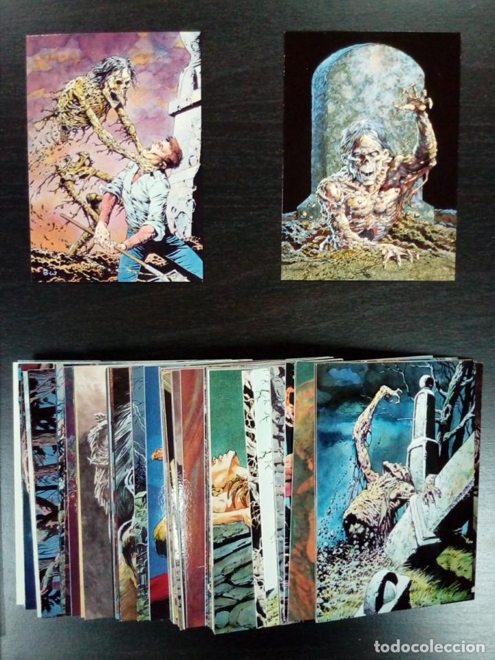 BERNIE WRIGHTSON- TRADING CARDS COMPLETA (Coleccionismo - Cromos y Álbumes - Trading Cards)