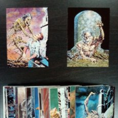 Trading Cards: BERNIE WRIGHTSON- TRADING CARDS COMPLETA. Lote 178944211