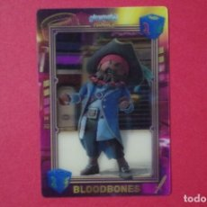 Trading Cards: PLAYMOBIL Nº 30 BLOODBONES - CROMO LENTICULAR PELICULA - CARREFOUR - 2019 MOVIE CARTA - NUEVOS. Lote 179563101