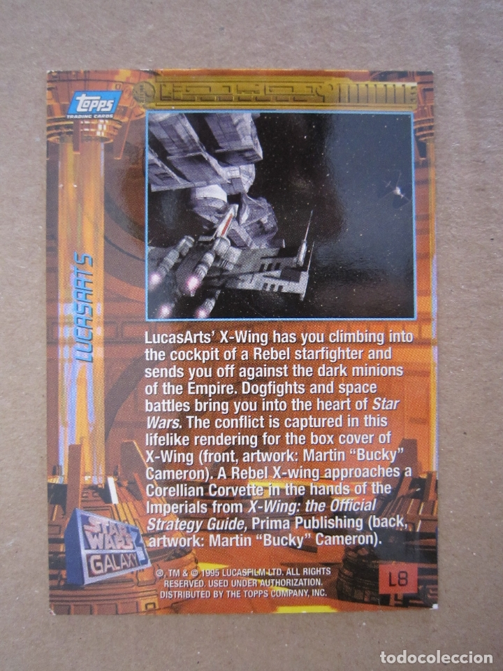 Trading Cards: TRADING CARD - STAR WARS GALAXY 3 (TOPPS TRADING CARDS / L8) - 1995 - U.S.A. - Foto 2 - 180504021