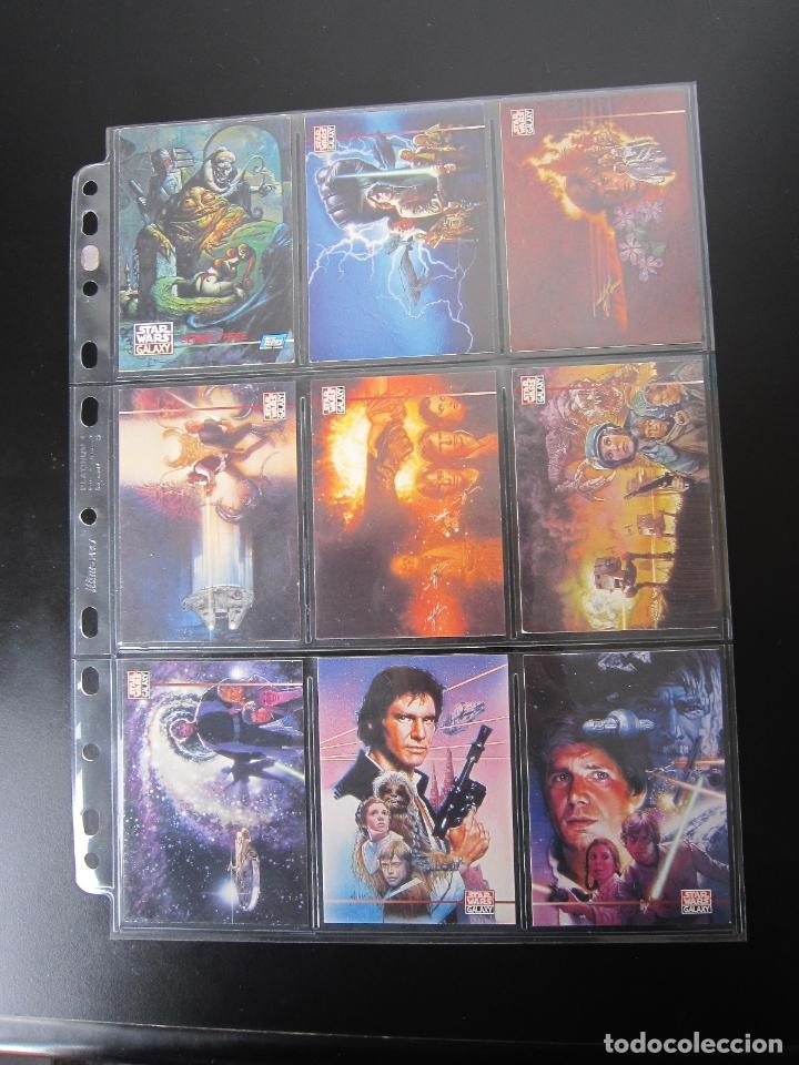 TRADING CARDS - STAR WARS GALAXY 3 - 1995 - IMPORTACIÓN U.S.A. (Coleccionismo - Cromos y Álbumes - Trading Cards)