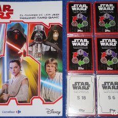 Trading Cards: STAR WARS - EL CAMINO DE LOS JEDI - TOPPS - CARREFOUR ¡COMPLETA E IMPECABLE!. Lote 181609342
