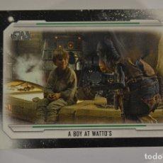 Trading Cards: STAR WARS SAGA SKYWALKER : SET COMPLETO (100 CARDS, TOPPS 2019). Lote 182587307