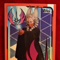 Trading Cards: RUMBO A STAR WARS LOS ULTIMOS JEDI Nº 216 SHAAK TI REFLEJOS BRILLANTES. Lote 183008637