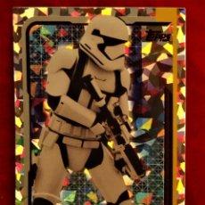 Trading Cards: RUMBO A STAR WARS LOS ULTIMOS JEDI Nº 188 SOLDADO DE ASALTO REFLEJOS BRILLANTES. Lote 183010606