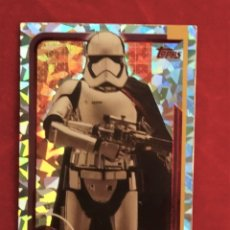 Trading Cards: RUMBO A STAR WARS LOS ULTIMOS JEDI Nº 183 CAPITAN PHASMA REFLEJOS BRILLANTES. Lote 183011025