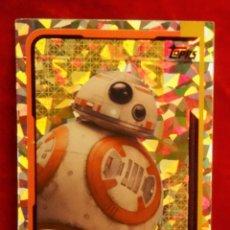 Trading Cards: RUMBO A STAR WARS LOS ULTIMOS JEDI Nº 175 BB-8 REFLEJOS BRILLANTES. Lote 183012007