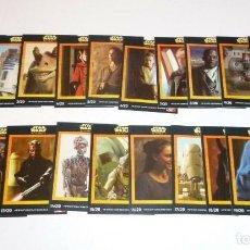Trading Cards: STAR WARS EPISODIO 1 1999 PROMOCIONALES KFC EN INGLES COMPLETA 20 CARDS. Lote 183453357