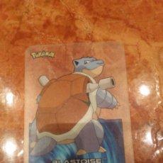 Trading Cards: BLASTOISE 9 CARTA POKEMON 2005. Lote 183825248
