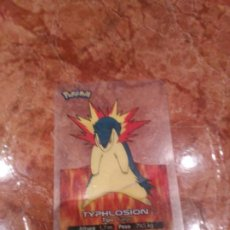 Trading Cards: TYPHLOSION. 6 POKEMON 2005. Lote 183826885