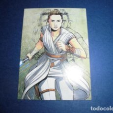 Trading Cards: TRADING CARD: CAMINO HACIA STAR WARS. EL ASCENSO DE SKYWALKER. IC-6 - ILLUSTRATED CHARACT - TOPPS - . Lote 183959088