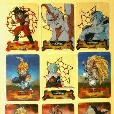 Trading Cards: DRAGON BALL Z SUPER 3D NEW EDITION LAMINCARDS EDIBAS - Nº 14, 79, 80, 87, 108, 122, 127,148,150. Lote 159964110