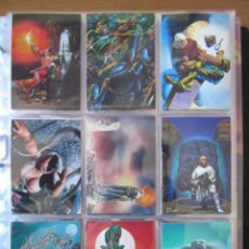 Trading Cards: RICHARD CORBEN - COLECCION COMPLETA DE TRADING CARD + ESPECIALES. Lote 236513140