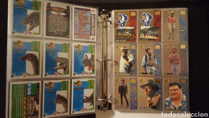 Trading Cards: Trading cards - Jurassic Park - Con especiales, promos hologramas y carpeta binder - Topps - 1993 - Foto 2 - 186153426